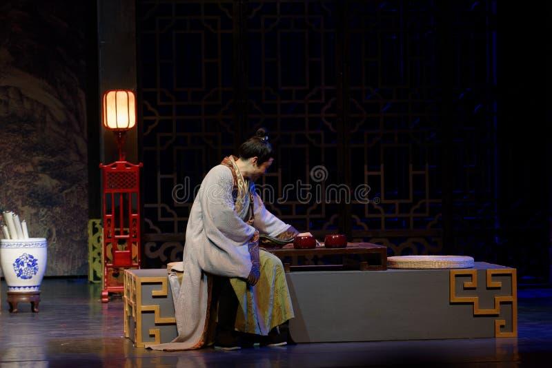 El juego de va- en segundo lugar acto: la noche del drama histórico ejército-grande, ` Yangming ` de tres noches imágenes de archivo libres de regalías