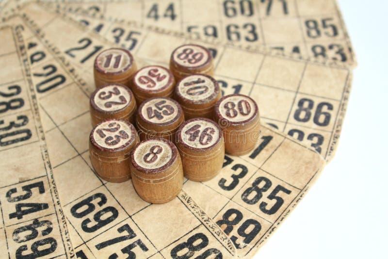 El juego del bingo imágenes de archivo libres de regalías