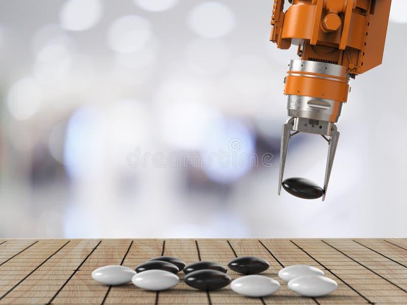 El juego del robot va fotografía de archivo