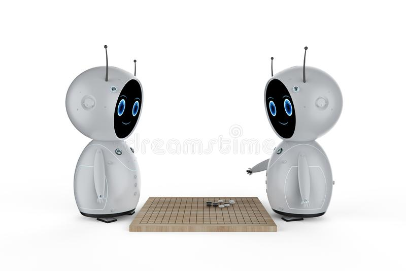El juego del robot va libre illustration
