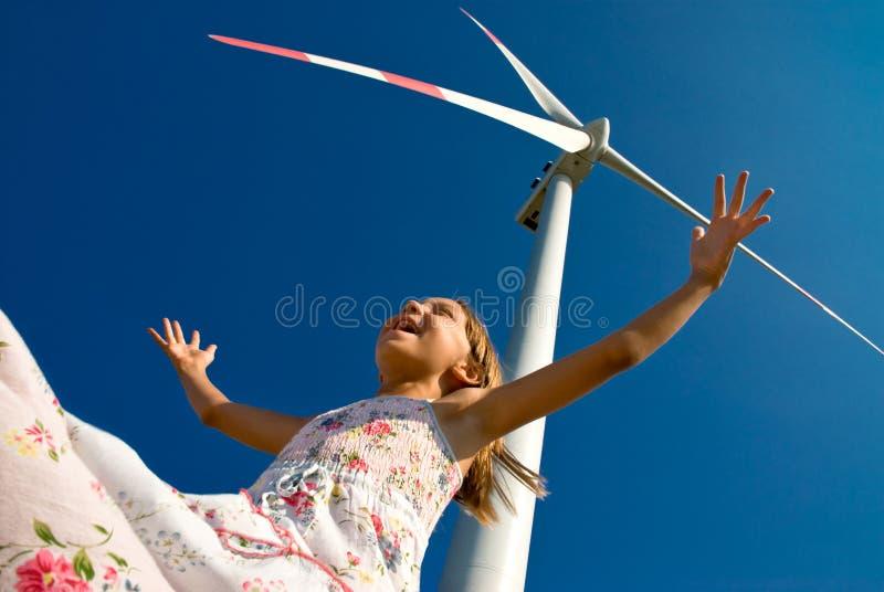el jugar con el viento