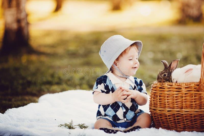 El jugar de Little Boy imágenes de archivo libres de regalías