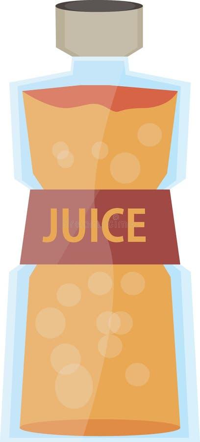 El jugo bebe la naranja adentro foto de archivo libre de regalías