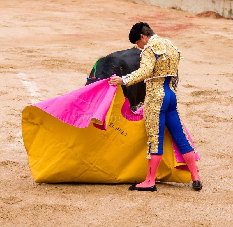 El Juli bullfighting royalty free stock images