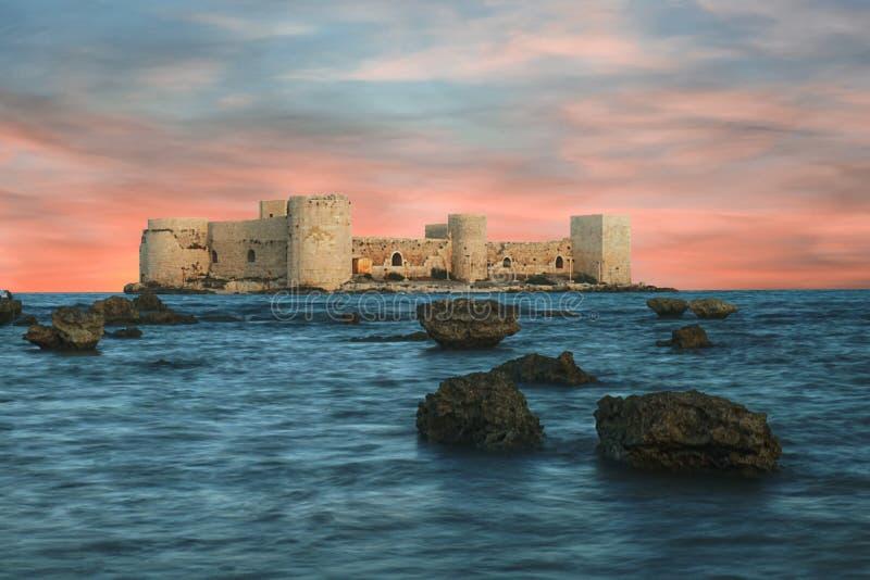 El kalesi Mersin - Turquía de CastleKiz de la doncella fotos de archivo