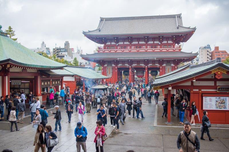 El kaminarimon puerta del trueno puerta del templo de for Puerta kaminarimon