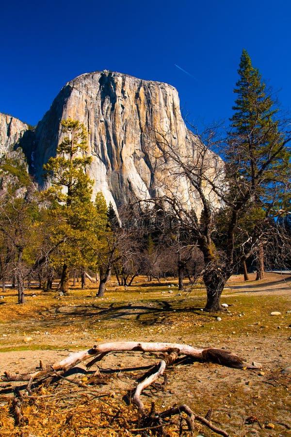 El kapitanu skała w Yosemite parku narodowym, Kalifornia obrazy stock