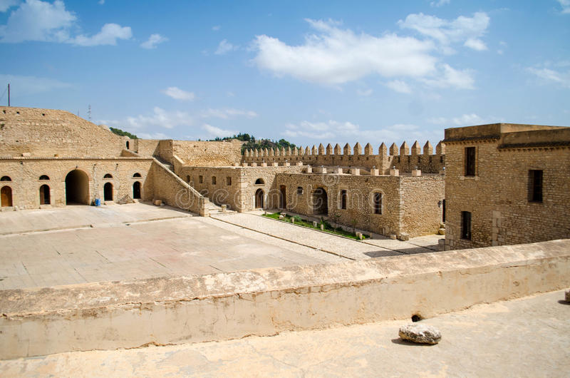 EL Kef& x27; fortezza medievale: Kasbah immagine stock