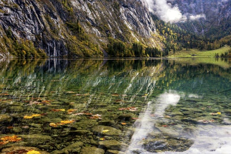 El Koenigssee beautyful fotos de archivo libres de regalías