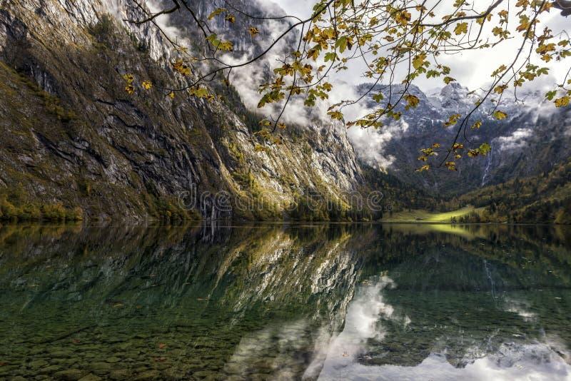 El Koenigssee beautyful imagenes de archivo