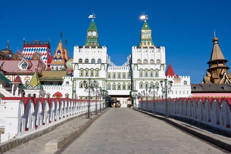 El Kremlin en Izmailovo fotos de archivo