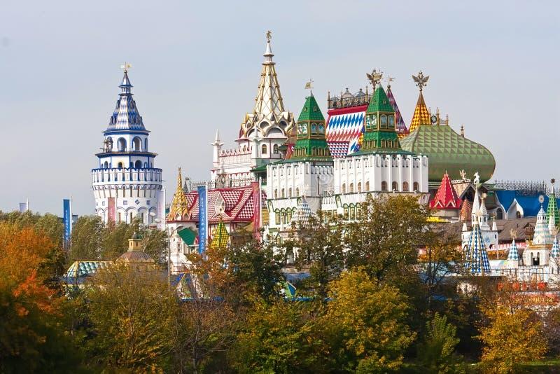 El Kremlin en Izmailovo foto de archivo