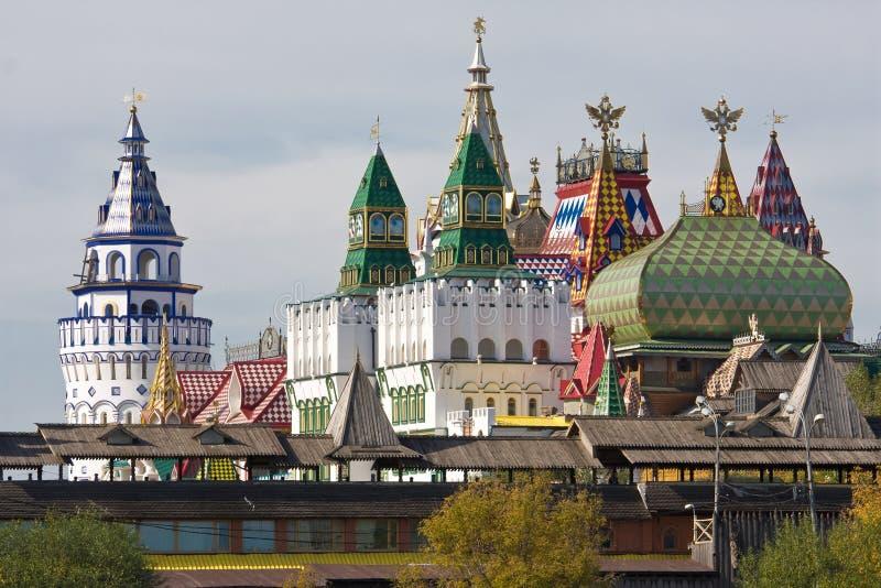 El Kremlin en Izmailovo foto de archivo libre de regalías