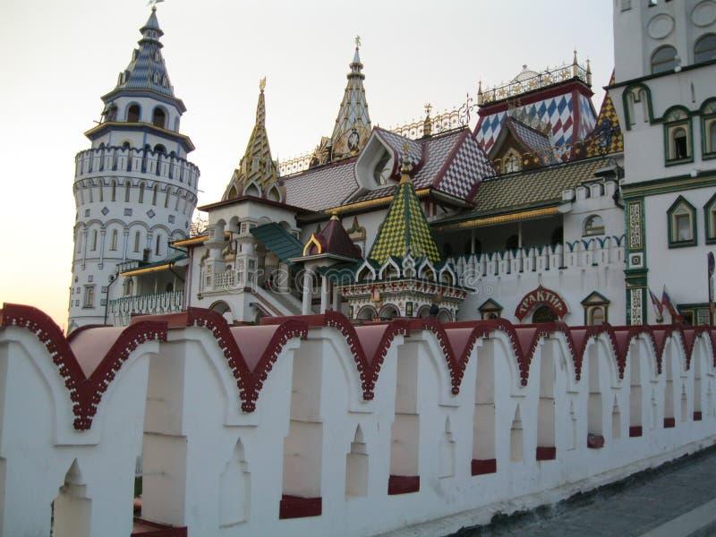 El Kremlin en Izmailovo (compuesto ruso) Moscú fotografía de archivo libre de regalías