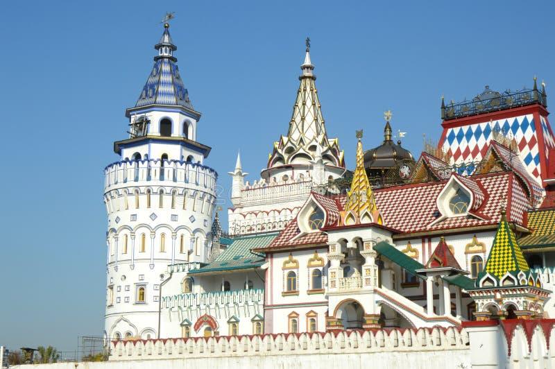 El Kremlin en Izmailovo Moscú imagen de archivo