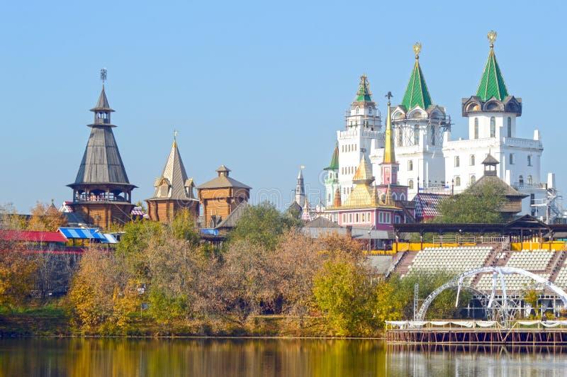 El Kremlin en Izmailovo Moscú Rusia foto de archivo libre de regalías
