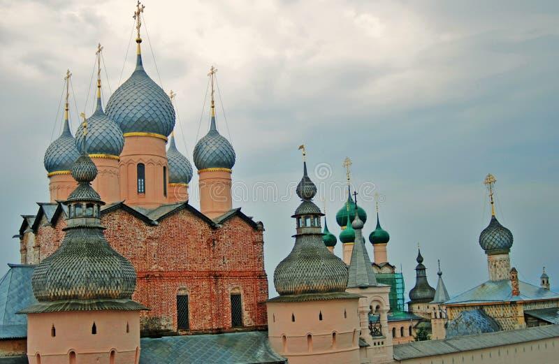 El Kremlin en Rostov, Rusia fotos de archivo