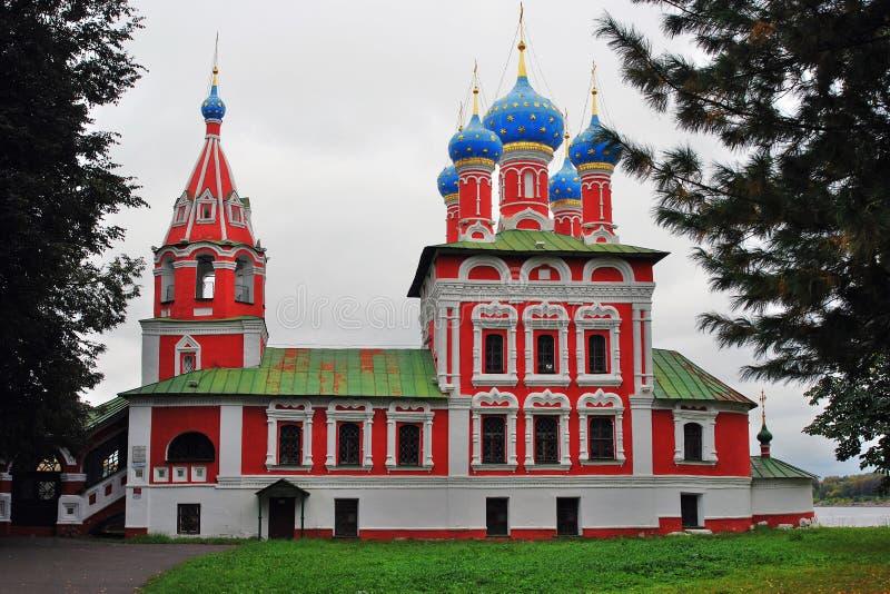 El Kremlin en Uglich, Rusia foto de archivo