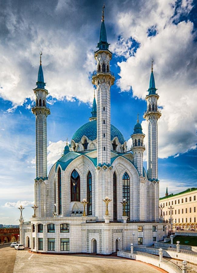 El Kul Sharif Mosque es el que está de las mezquitas más grandes de Rusia foto de archivo libre de regalías