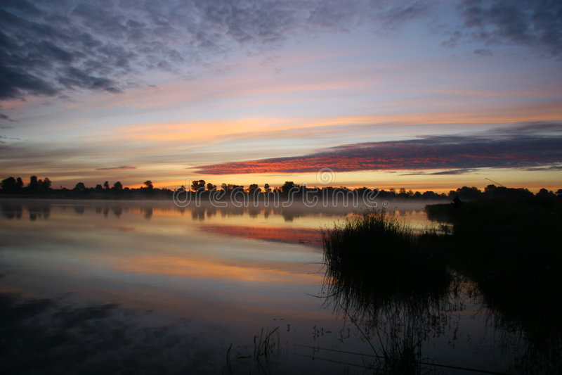El lago foto de archivo libre de regalías