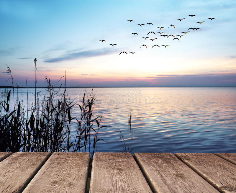 EL-lago stockfoto