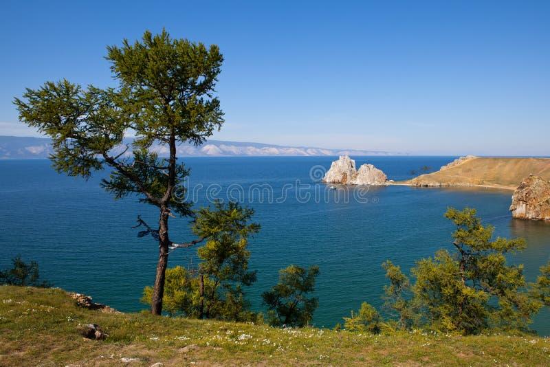 El lago Baikal imagen de archivo