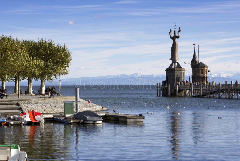 El lago de Constanza imagenes de archivo