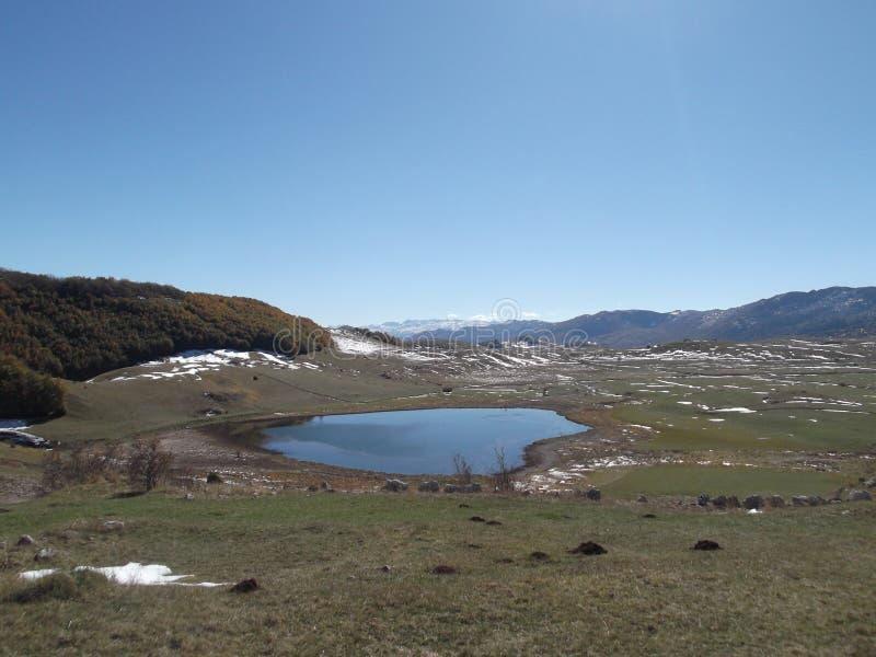 El lago del ensko del ‡ del ¡Ä de PoÅ imágenes de archivo libres de regalías