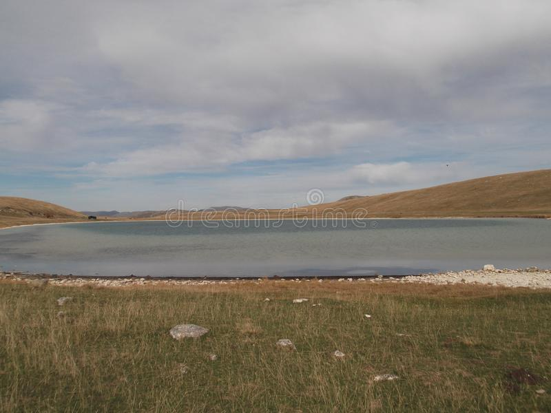 El lago del je del ¾ de VraÅ foto de archivo