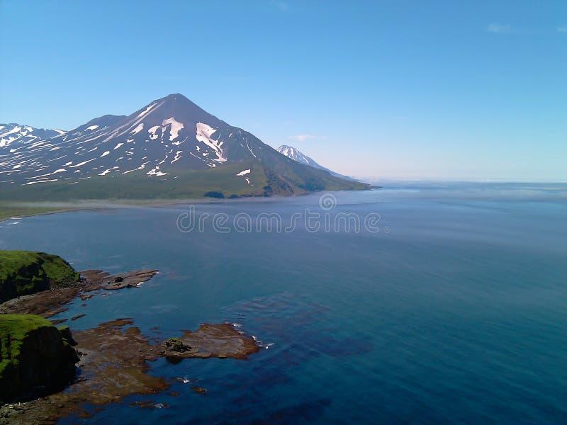 El lago Kuril imagenes de archivo