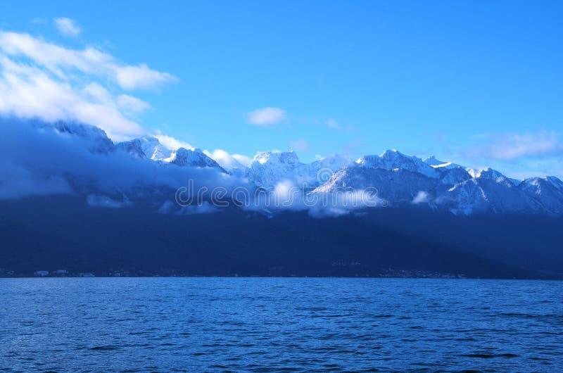 El lago Lemán foto de archivo libre de regalías