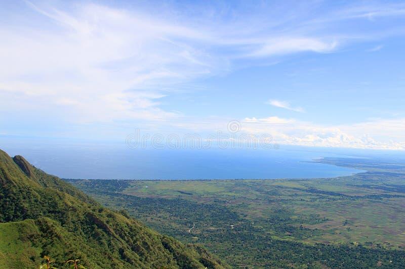 El lago Malawi (lago Nyasa) imagen de archivo
