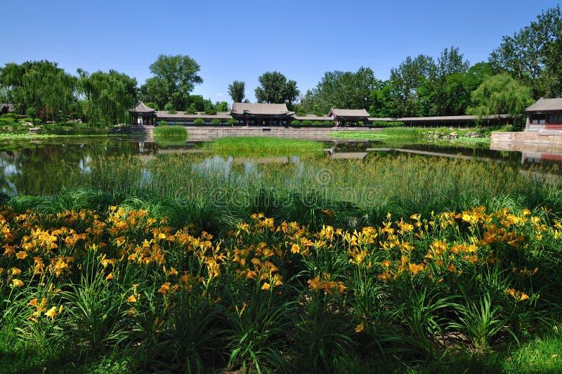 El lago palace de verano imagen de archivo