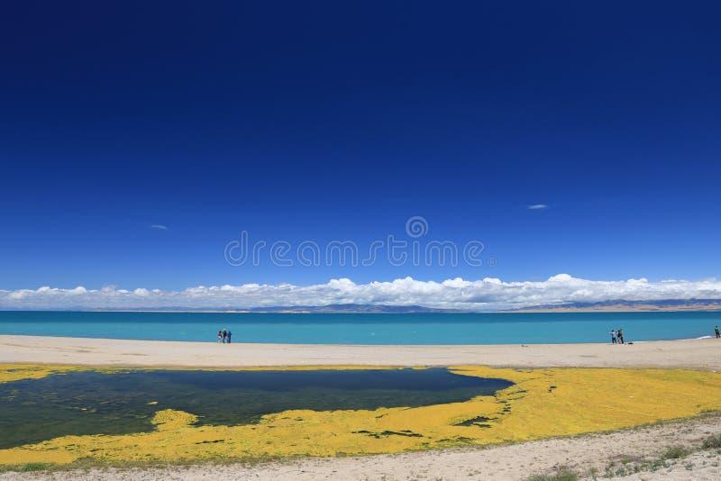 El lago Qinghai imagen de archivo libre de regalías