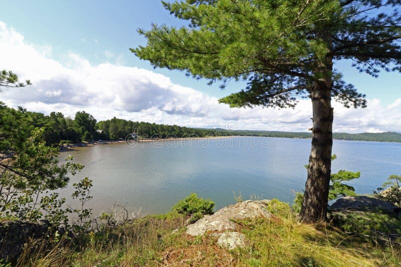 El lago Superior, Michigan imágenes de archivo libres de regalías
