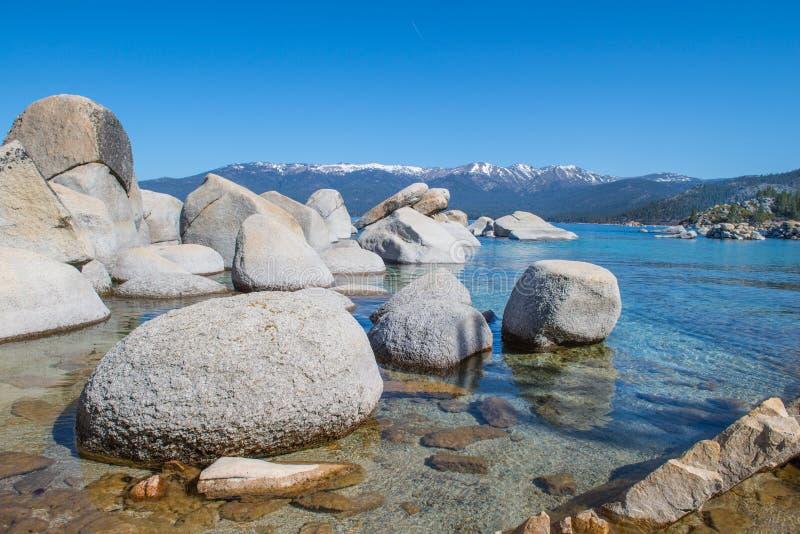 El lago Tahoe imagen de archivo