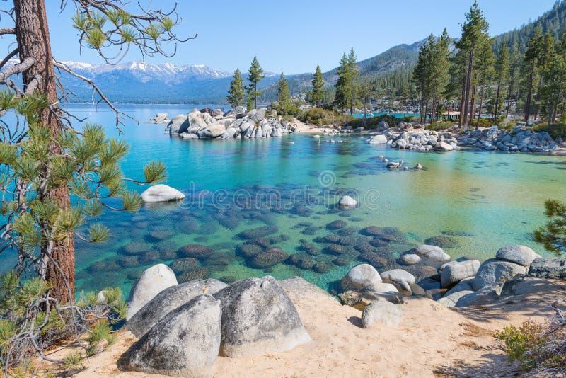 El lago Tahoe imagenes de archivo