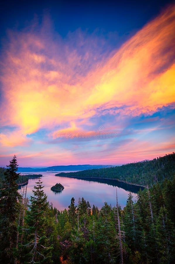 El lago Tahoe fotos de archivo libres de regalías