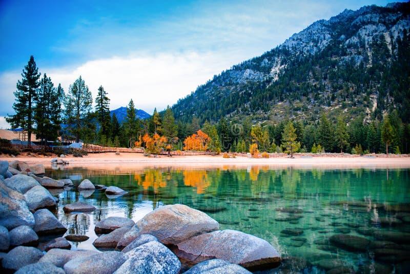 El lago Tahoe imágenes de archivo libres de regalías