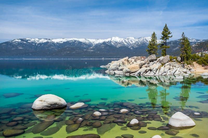 El lago Tahoe fotos de archivo