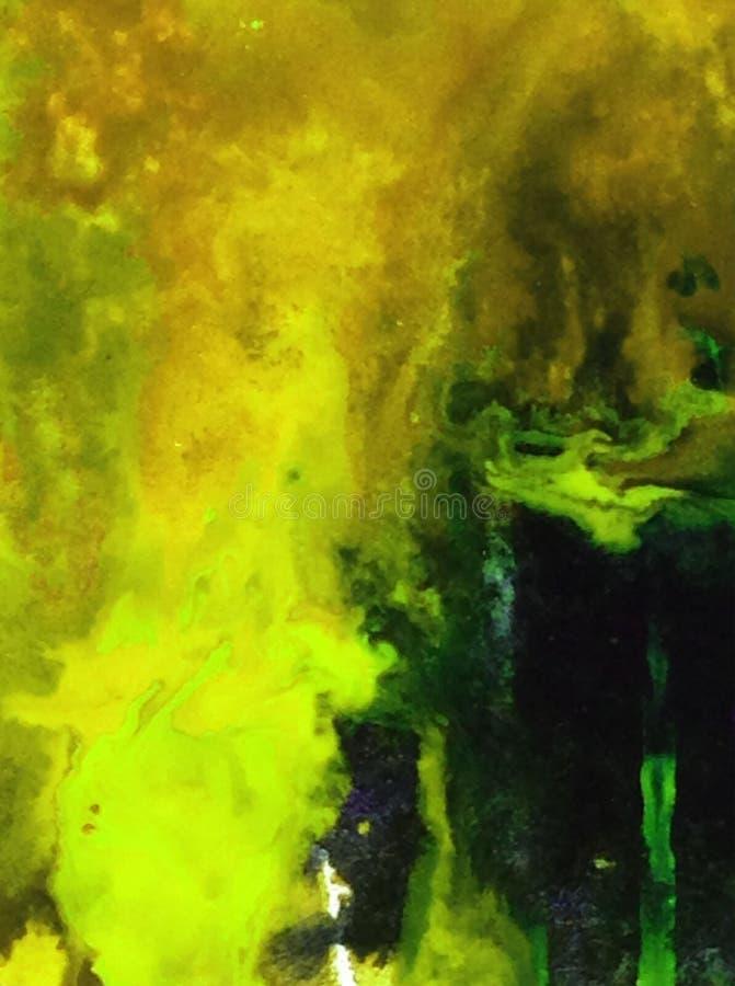 El lavado mojado texturizado material de la arcilla de la arena del stoun de la cueva del otoño del fondo del extracto del arte d fotografía de archivo