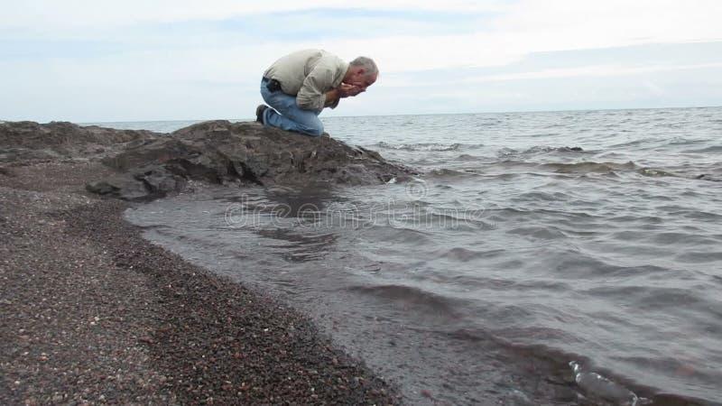 El lavarse en el lago Superior metrajes