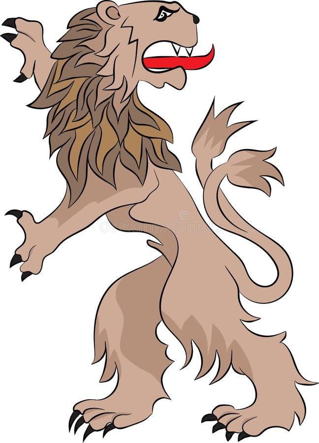 El león de los rebeldes libre illustration