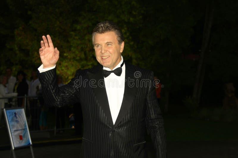 El lev Leshchenko del estrella del pop fotos de archivo