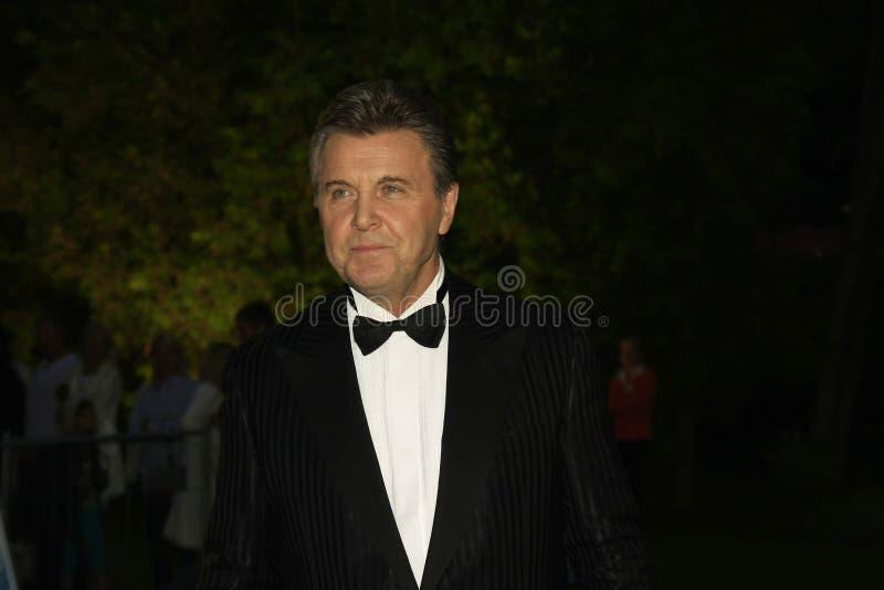 El lev Leshchenko del estrella del pop imagenes de archivo