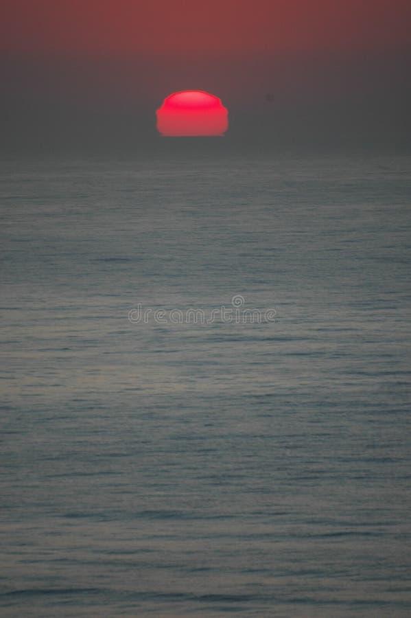 El levantamiento Sun foto de archivo libre de regalías