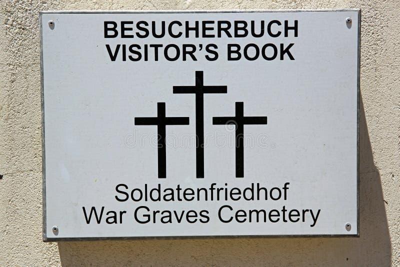 El libro de visitante imagenes de archivo