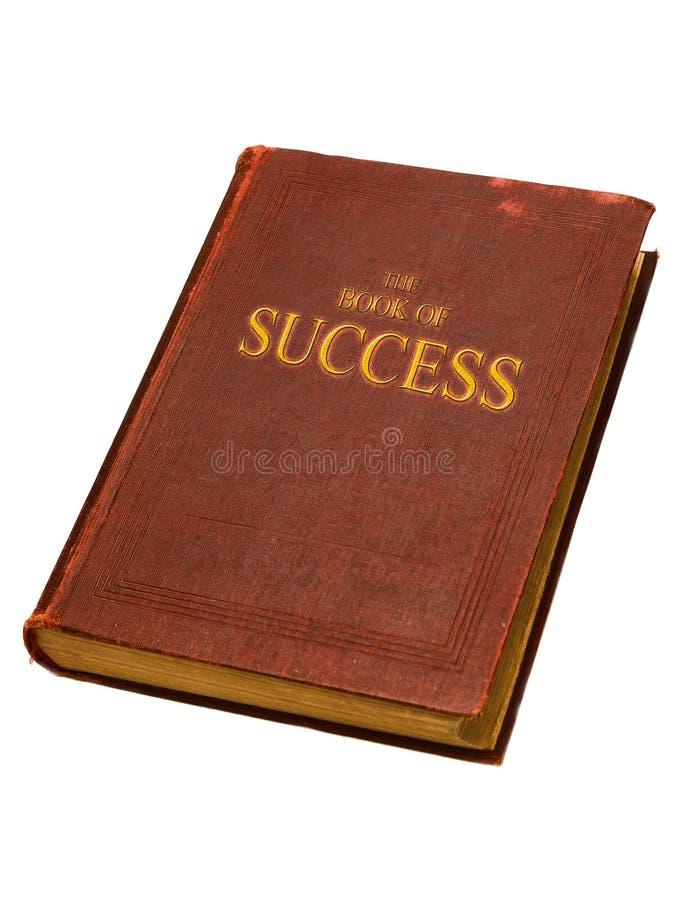 El libro del éxito fotografía de archivo
