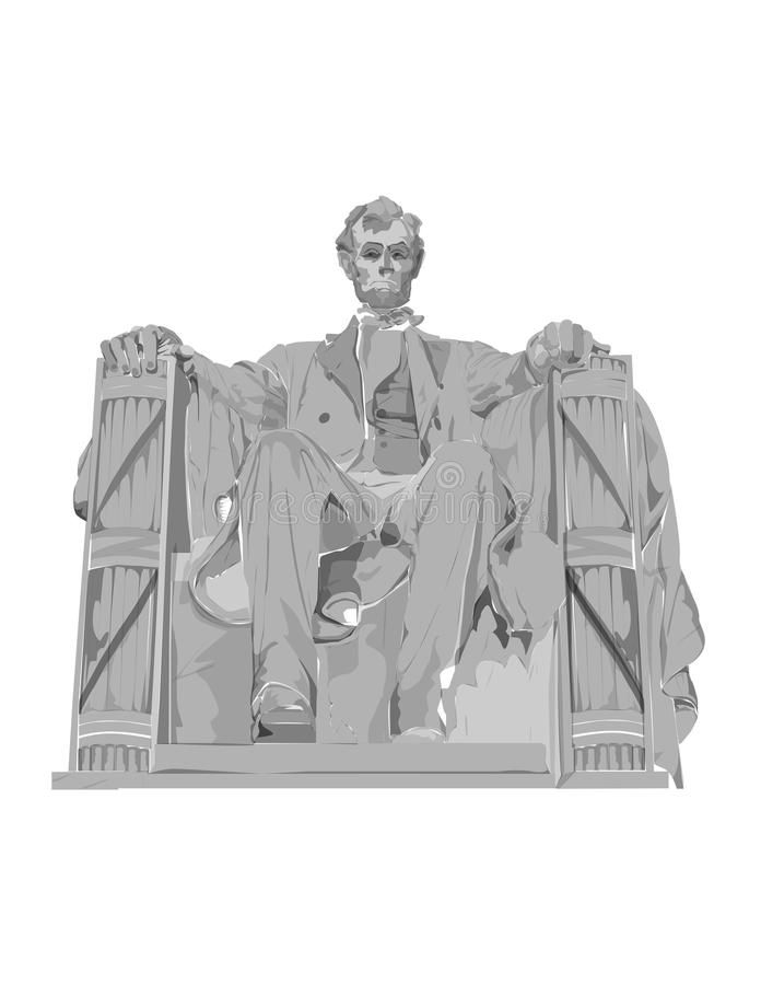 El Lincoln memorial libre illustration