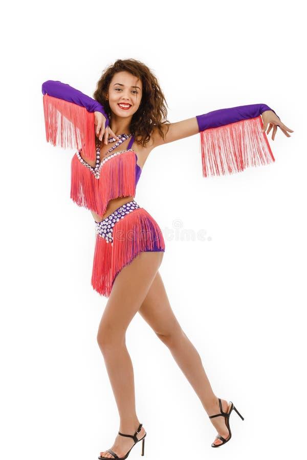 El llevar brasileño de Samba del bailarín imágenes de archivo libres de regalías